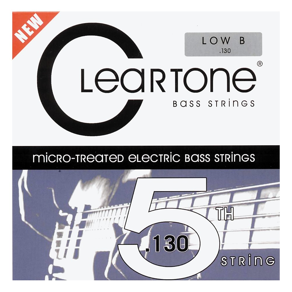 Cleartone Coated Bass 5Th String - Single .130