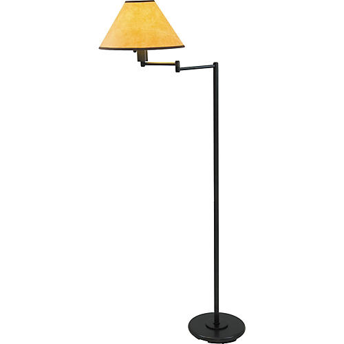 House of Troy 102 Oil Rubbed Bronze Swing Floor Lamp