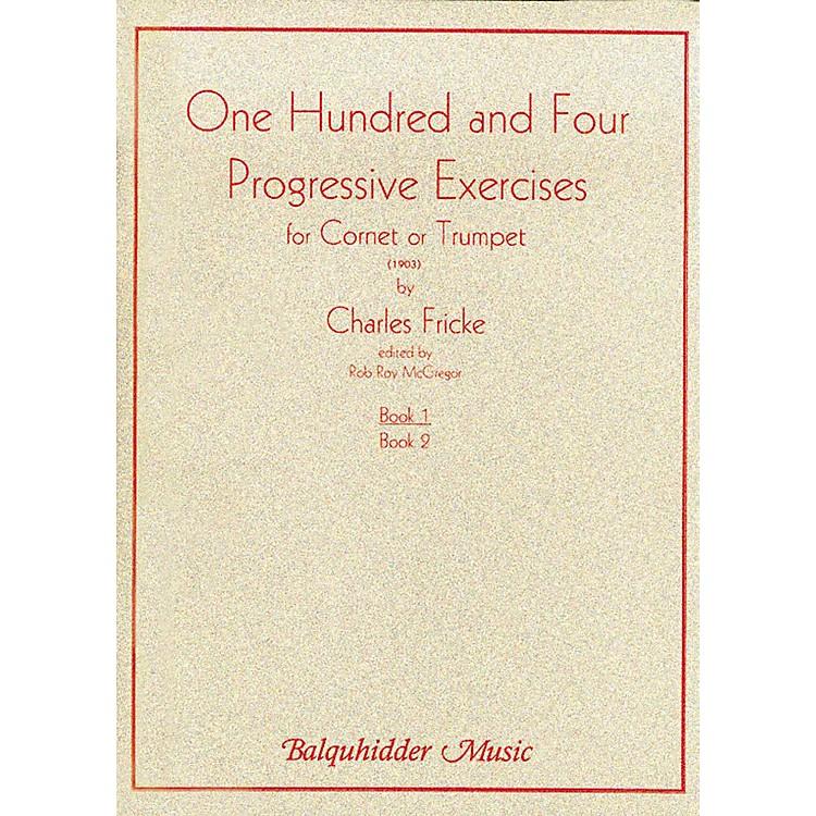 Carl Fischer104 Progressive Exercises (1903) for Cornet or Trumpet Volume 1 Book