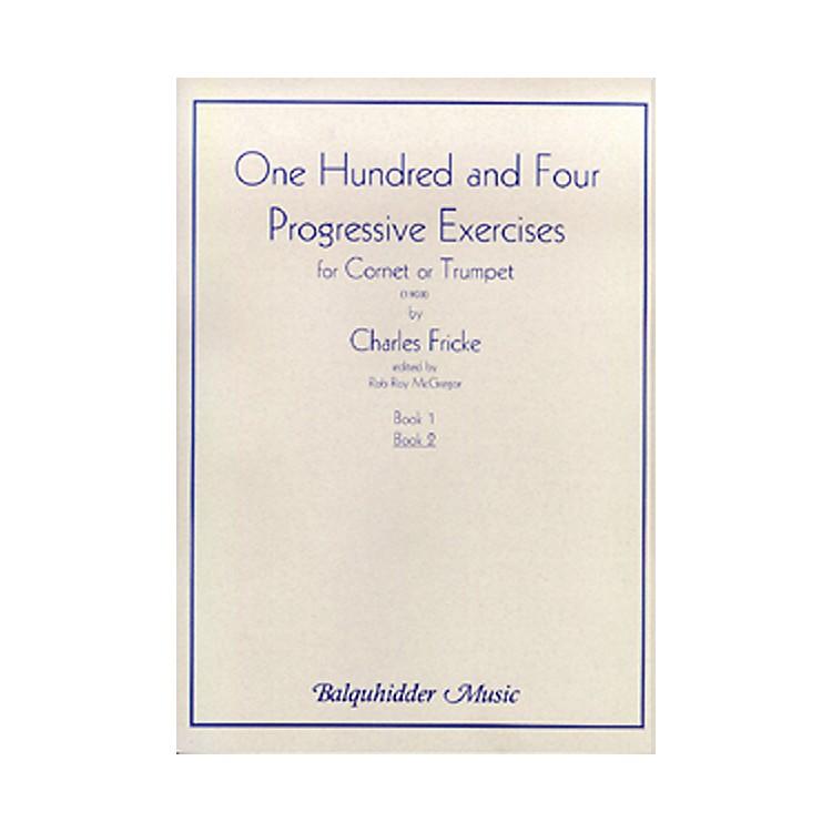 Carl Fischer104 Progressive Exercises (1903) for Cornet or Trumpet Volume 2 Book