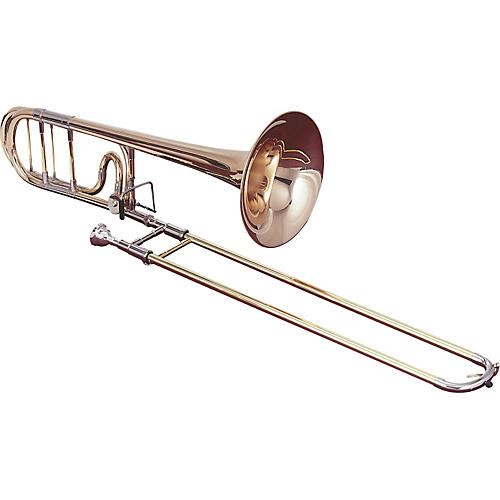Getzen 1047F Eterna Series F Attachment Trombone Lacquer Red Brass Bell