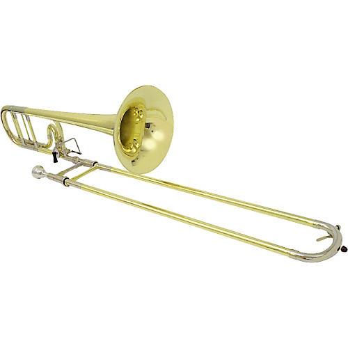 Getzen 1047F Eterna Series F Attachment Trombone Lacquer Yellow Brass
