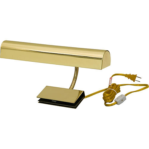 Pacific Trends 1062 Polished Brass Grand Piano Clip Lamp-thumbnail