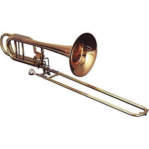 Getzen 1062FD Eterna Series Bass Trombone 1062FD Lacquer Yellow Brass Bell