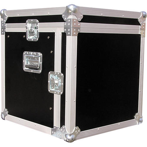 Eurolite 10x10 Mixer/Amp Combo Rack Case