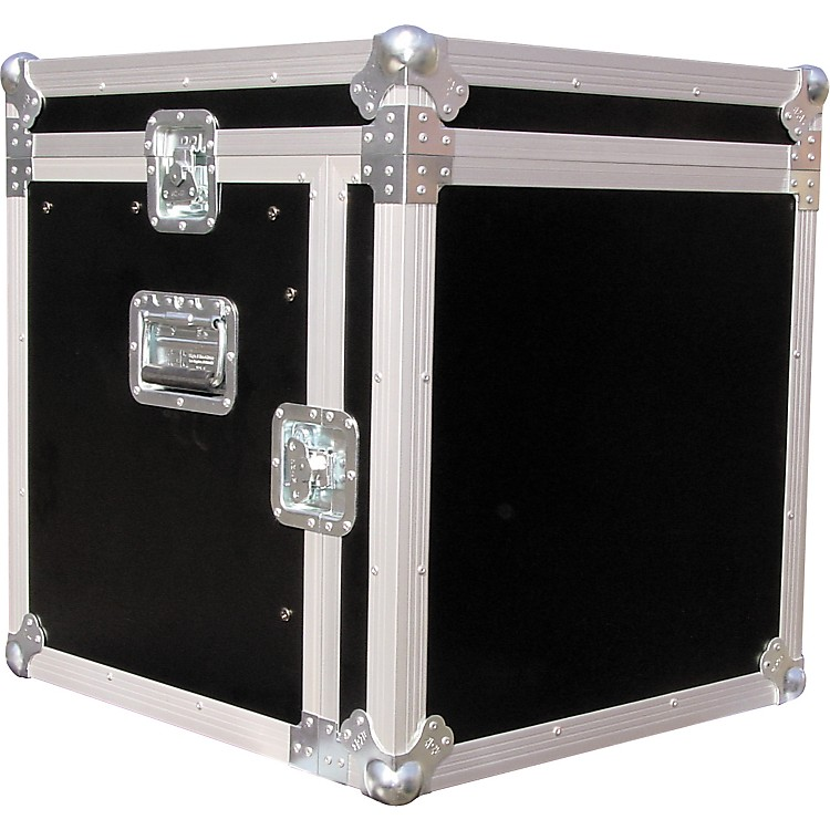 Eurolite10x10 Mixer/Amp Combo Rack Case