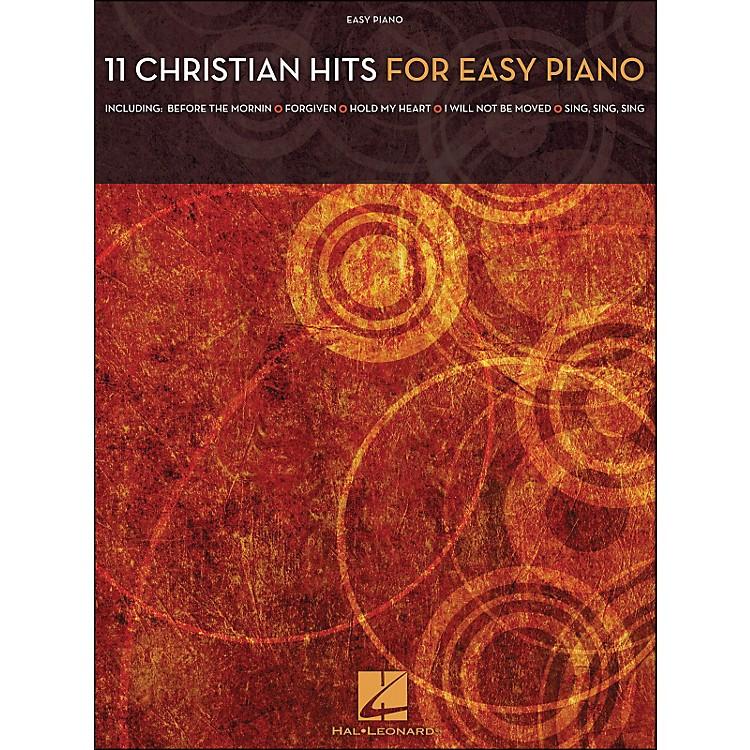 Hal Leonard11 Christian Hits for Easy Piano