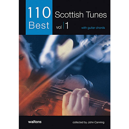 Waltons 110 Best Scottish Tunes (with Guitar Chords) Waltons Irish Music Books Series Softcover-thumbnail
