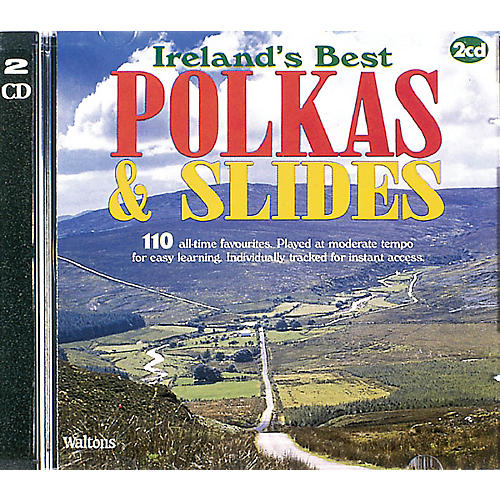 Waltons 110 Ireland's Best Polkas & Slides (with Guitar Chords) Waltons Irish Music Books Series CD-thumbnail