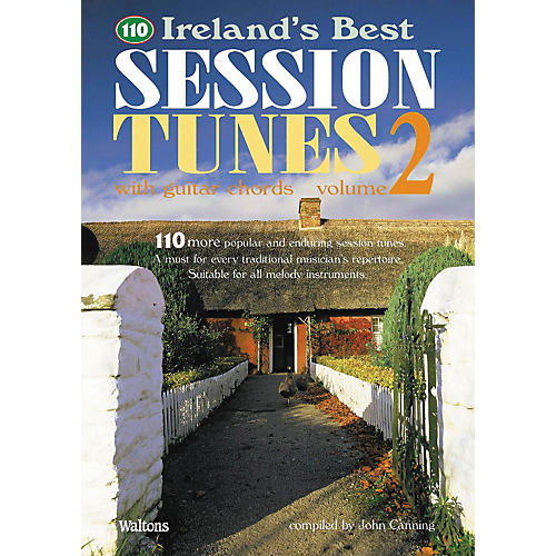 Waltons 110 Ireland's Best Session Tunes - Volume 2 (with Guitar Chords) Waltons Irish Music Books Series-thumbnail