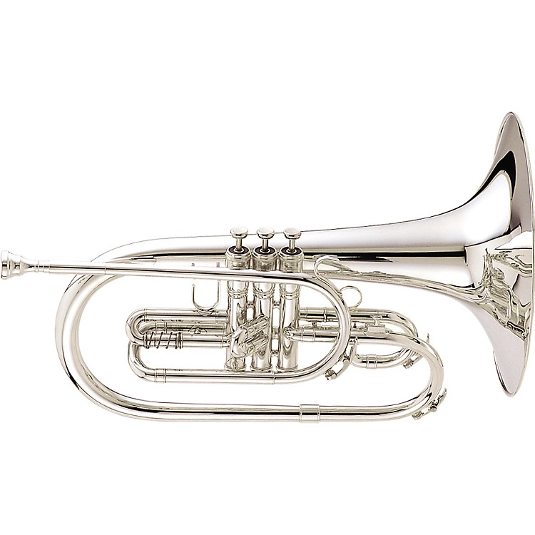 King1121 Ultimate Series Marching F Mellophone1121SP Silver