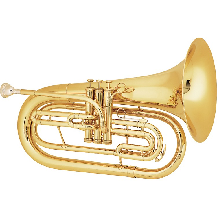 King 1124 Ultimate Series Marching Bb Baritone 1124 Lacquer