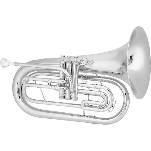 King 1124 Ultimate Series Marching Bb Baritone 1124SP Silver