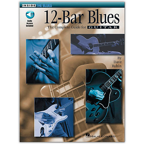 Hal Leonard 12-Bar Blues Book/CD