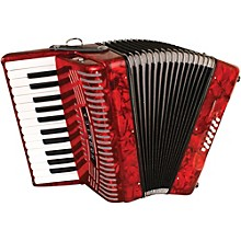 Open BoxHohner 12 Bass Entry Level Piano Accordion