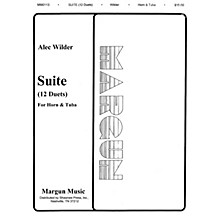 Margun Music 12 Duets for Horn and Tuba Shawnee Press Series