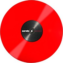 SERATO 12 Inch Control Vinyl - Performance Series OFFICIAL Jacket (Pair) Red