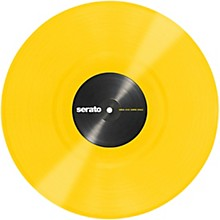 SERATO 12 Inch Control Vinyl - Performance Series OFFICIAL Jacket (Pair) Yellow