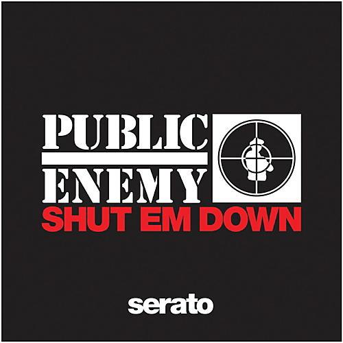 SERATO 12 Inch Serato x Public Enemy Shut Em Down Pressing (Pair)-thumbnail