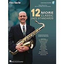 Music Minus One 12 More Classic Jazz Standards Music Minus One Series Softcover with CD Performed by Tom Fischer