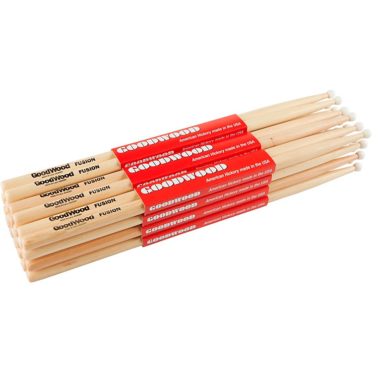 Goodwood 12-Pack Drumsticks Fusion Nylon