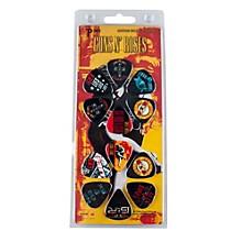 Perri's 12 Pack Of Guns N Roses Guitar Picks - Med Gauge - Celluloid Plastic