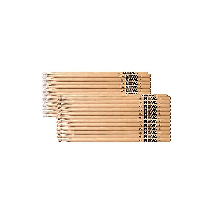 Nova12-Pair Hickory Drumsticks