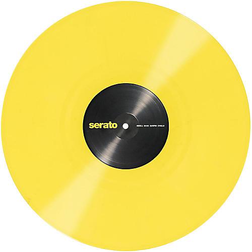 SERATO 12 Serato Control Vinyl - Pastel Yellow (Pair) 2014 REPRESS