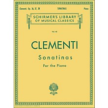 G. Schirmer 12 Sonatinas Op 36 37 38 Piano By Clementi