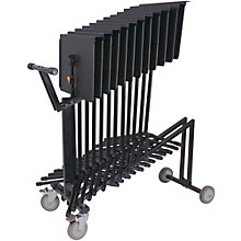 Hercules Stands 12-Stand Cart Black