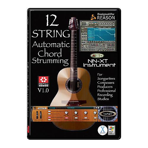 AudioWarrior 12-String Acoustic Guitar Reason Refill CD
