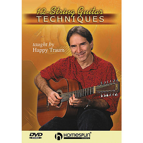 Homespun 12-String Guitar Techniques (DVD)-thumbnail