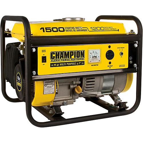 Champion Power Equipment 1200/1500 Watt Portable Gas-Powered Generator-thumbnail
