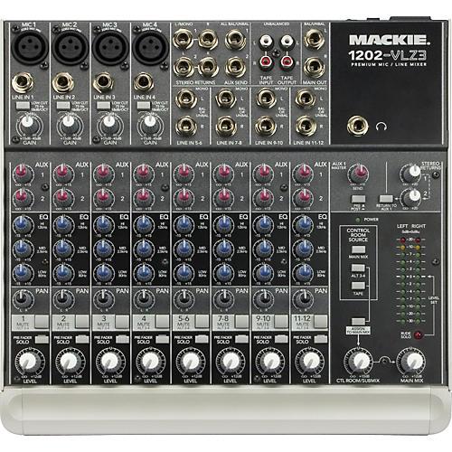 Mackie 1202-VLZ3 Compact Mixer - 120V