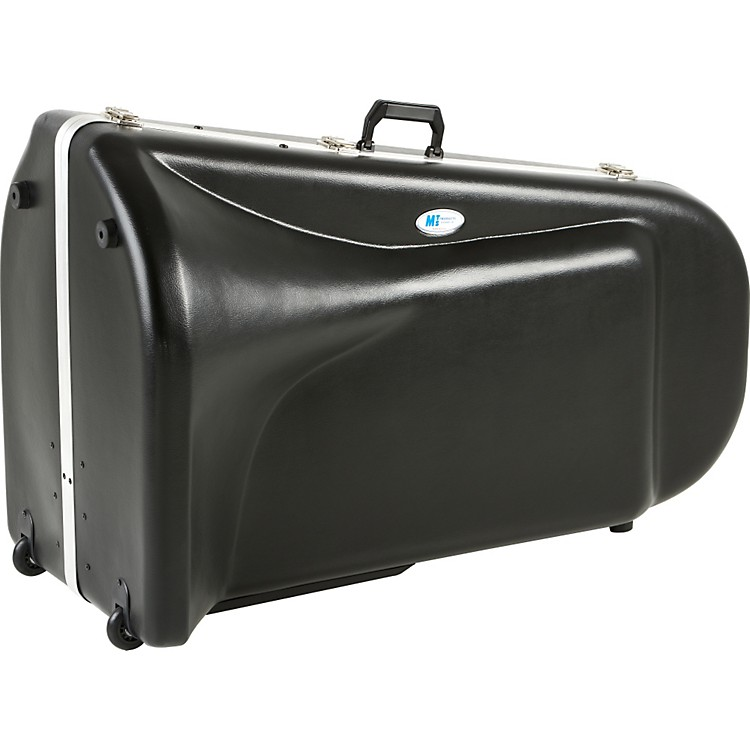 MTS Products 1203V Large Frame Top Action Tuba Case Black