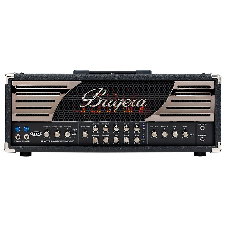 Bugera 120W 3 Channel Valve Guitar Head w/XL feature