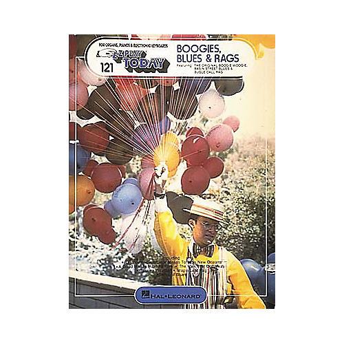 Hal Leonard 121. Boogies, Blues And Rags