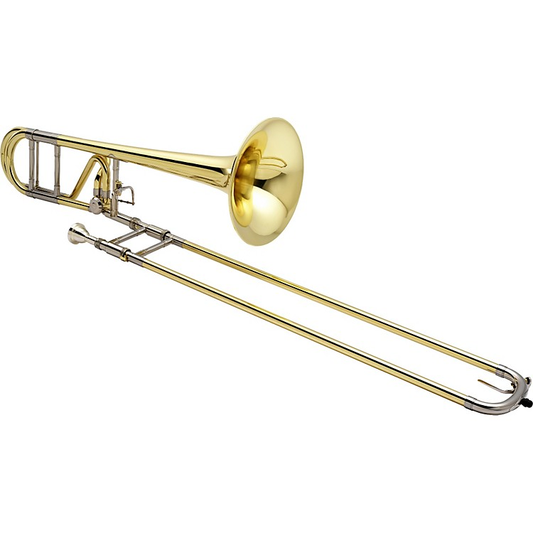 Jupiter 1236 XO Professional Series F Attachment Trombone 1236L-O Lacquer - Standard Valve and Yellow Brass Bell
