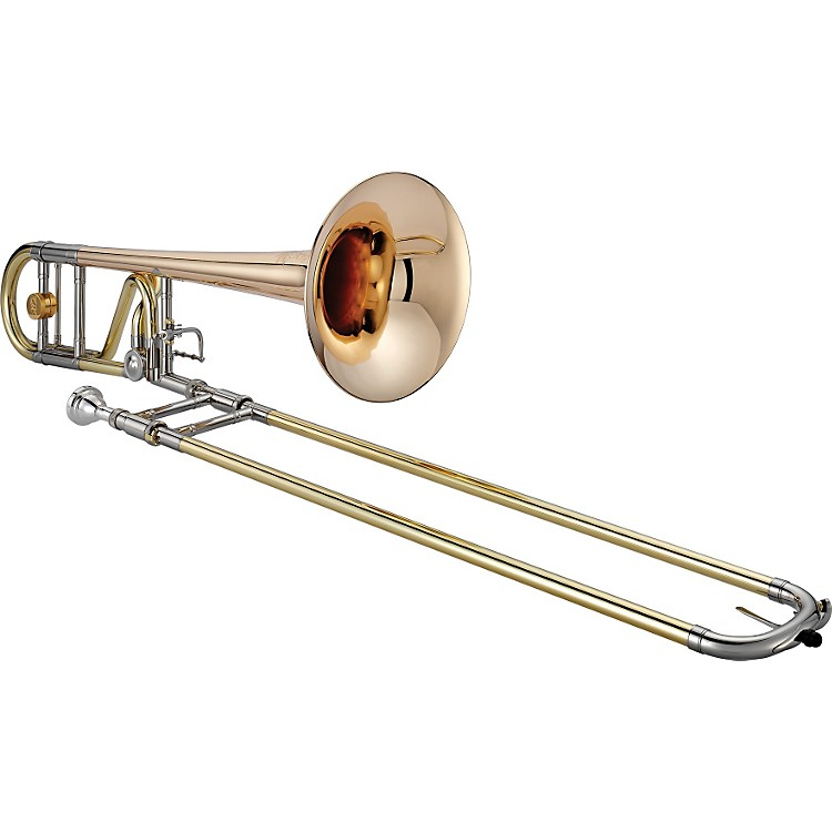 Jupiter 1236 XO Professional Series F Attachment Trombone 1236RL-O Lacquer - Standard Valve and Rose Brass Bell