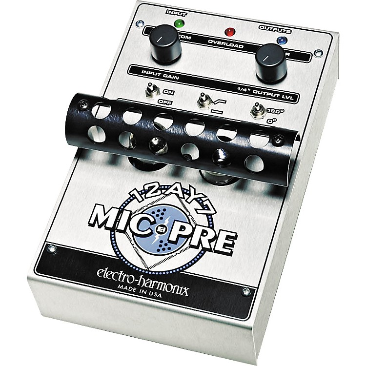 Electro-Harmonix12AY7 Tube Microphone Preamp