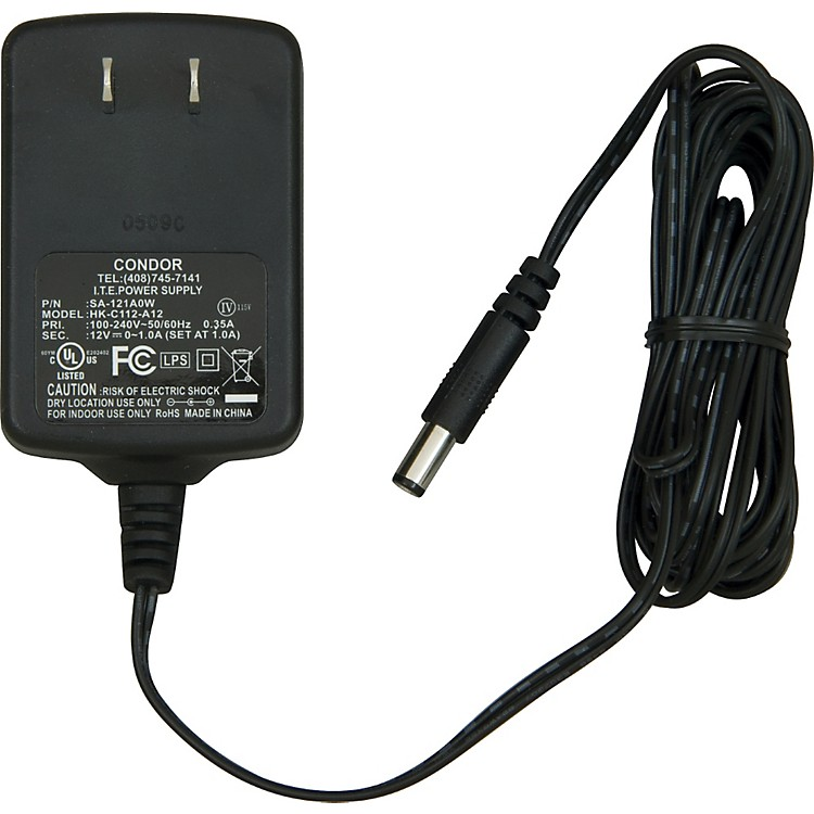 M-Audio 12V DC 1000mA (1A) POWER SUPPLY