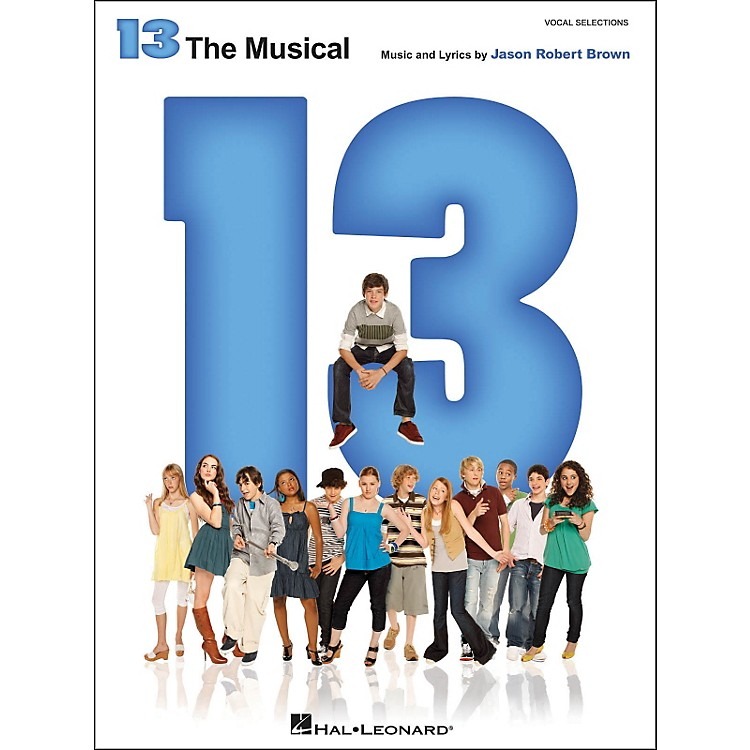 Hal Leonard13 - The Broadway Musical Vocal Selections arranged for piano, vocal, and guitar (P/V/G)