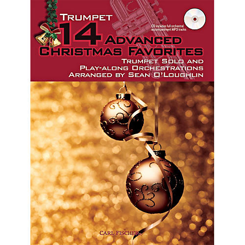 Carl Fischer 14 Advanced Christmas Favorites (Book + CD)-thumbnail