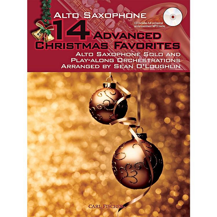 Carl Fischer14 Advanced Christmas Favorites (Book + CD)