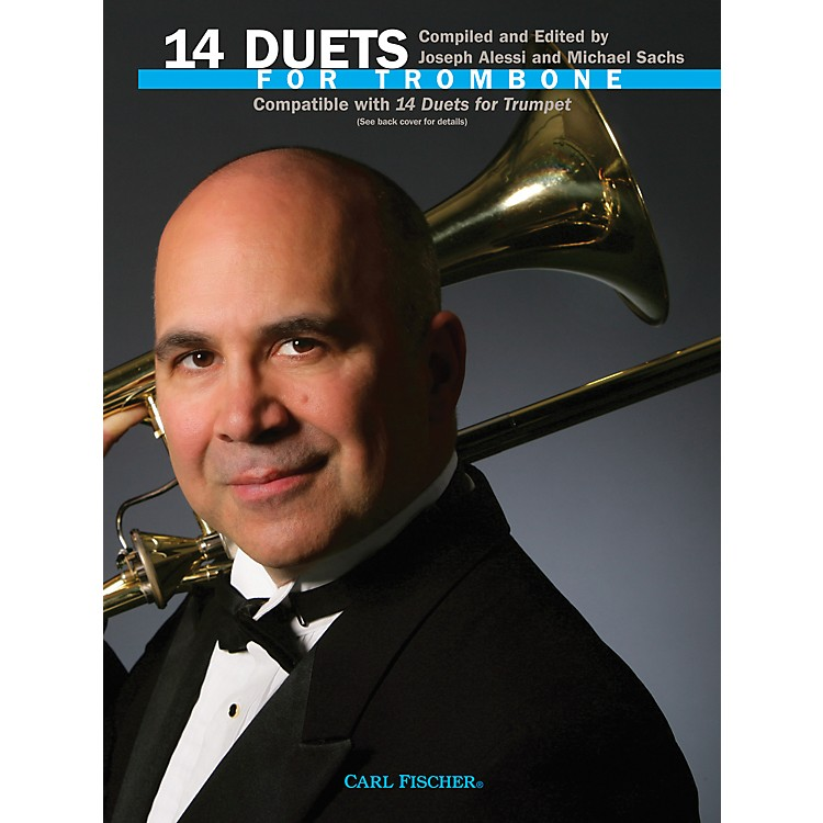 Carl Fischer 14 Duets for Trombone Book