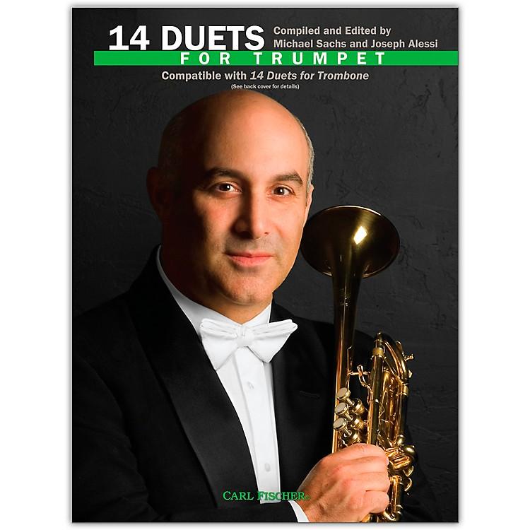 Carl Fischer14 Duets for Trumpet Book