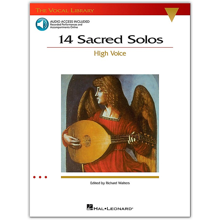 Hal Leonard 14 Sacred Solos for High Voice Book/2CD's