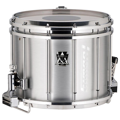 Ludwig 14 x 12 in. Ultimate Marching Snare Drum, 14 x 12 in., Silver-thumbnail
