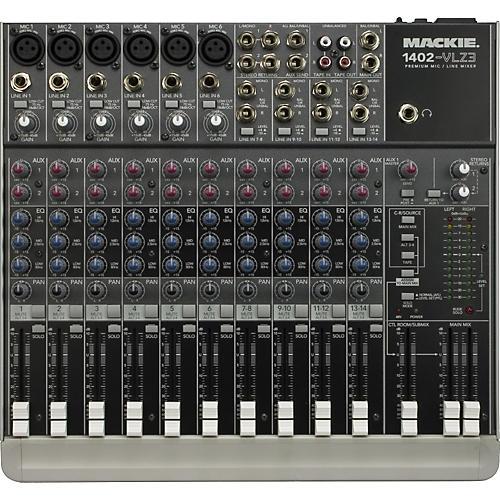 Mackie 1402-VLZ3 Premium 14-Channel Compact Mixer-thumbnail