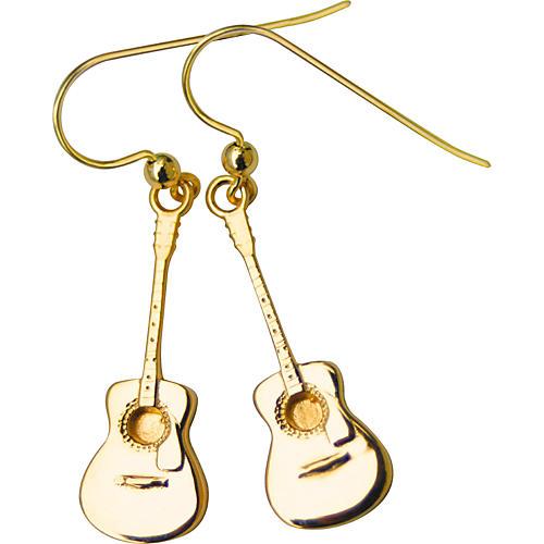 Jeffrey David 14k Gold Acoustic Guitar Earrings